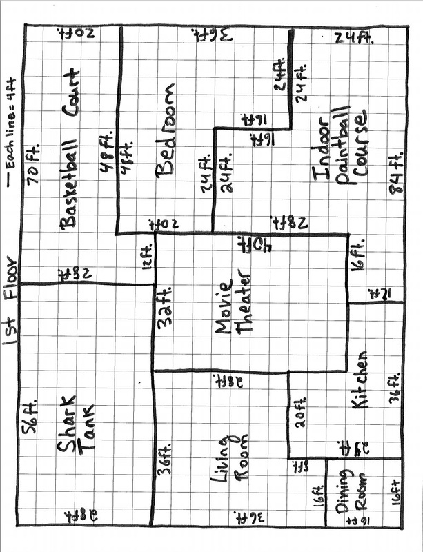Step 1 create your floor plan math for Floor mathematics
